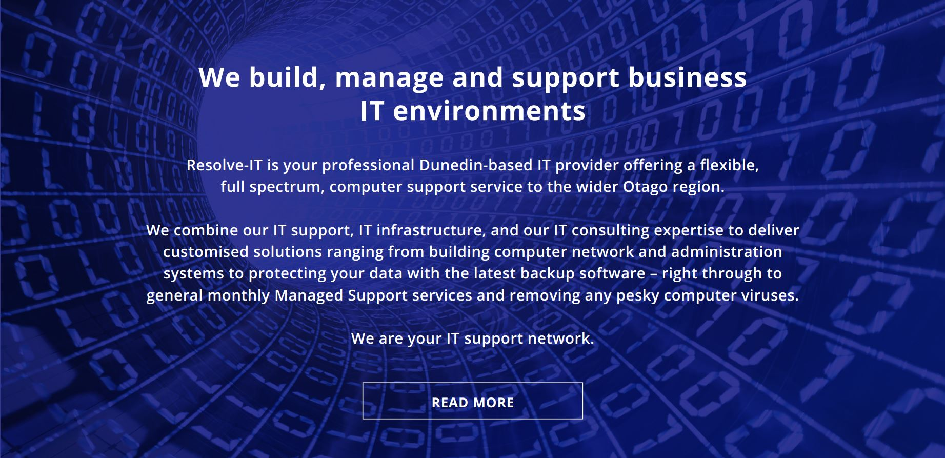 Resolve-IT -We build, manage and support business